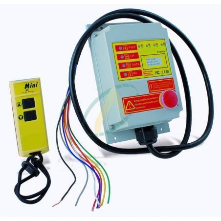 Mini radio commande 2 à 4 boutons + arrêt d'urgence