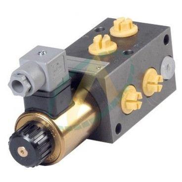 Sélecteur de fonctions empilables 12V 80l/min avec ou sans kits de commande électriques