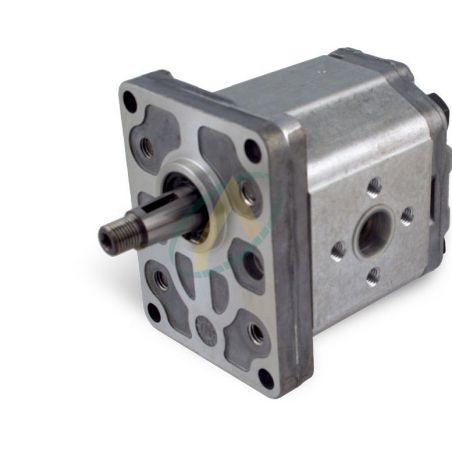 Pompe SAUER flasque 4 trous 96.2 X 71.5 mm arbre conique 1/8 17.5 / 15 mm de 4 à 26 cm3