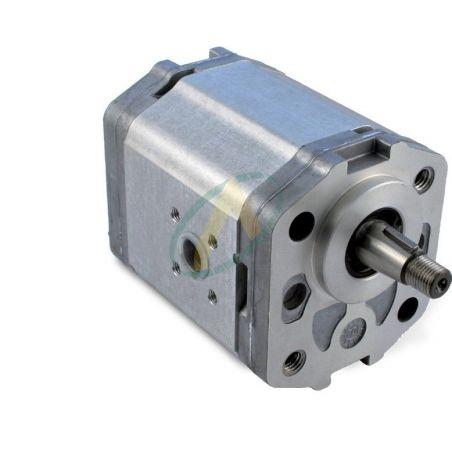 Pompe SAUER  flasque 2 Trous XX 60X60 mm arbre Conique 1/5 17.5 / 14 mm de 4 à 26 cm3 40x40