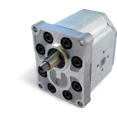 Pompe SAUER 63 à 88 cm3 4 Trous 128.1X98.4 mm arbre Conique 1/8 22 / 19,5 mm 62x62