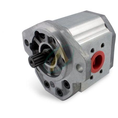 Pompe SAUER 51 à 88 cm3 - 2 Trous 146.05 mm - Arbre Cannelé 13 dents - Bride 70x36