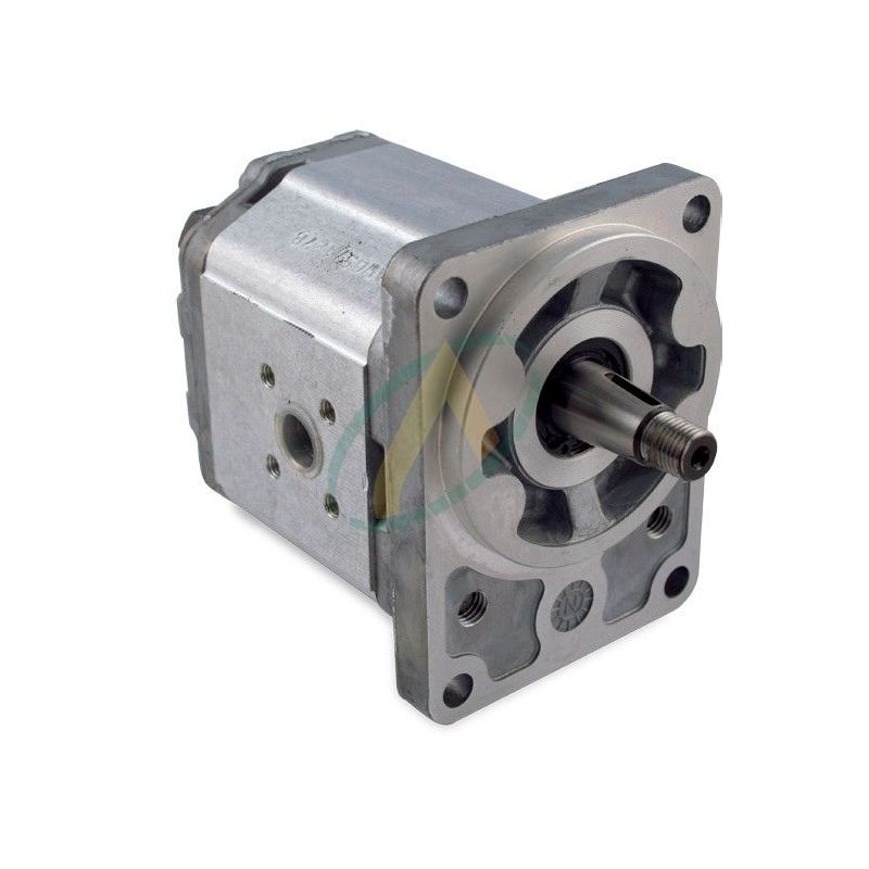 Pompe SAUER flasque 4 Trous 100 X 72 mm arbre Conique 1/5 17.5 / 14 mm de 4 à 26 cm3