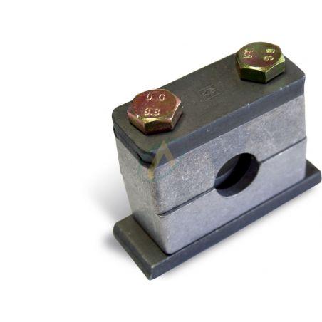 Collier simple matière aluminium