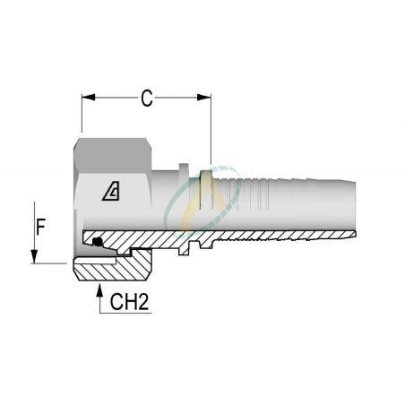 Embouts Femelle Normes DIN 3865 - Série L