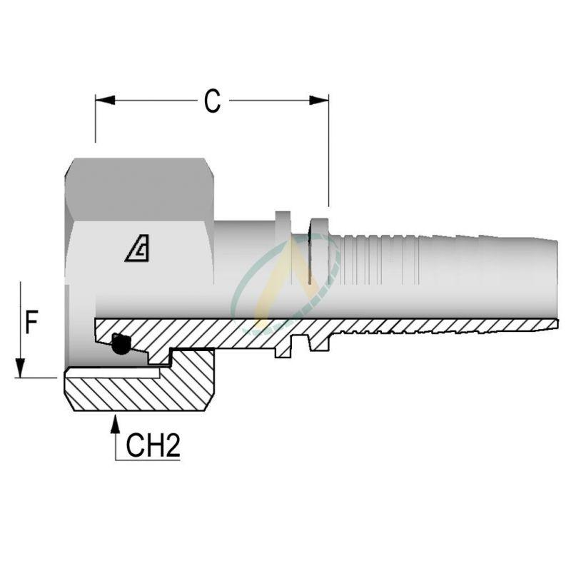 Embouts Femelle Normes DIN 3865 - Série S