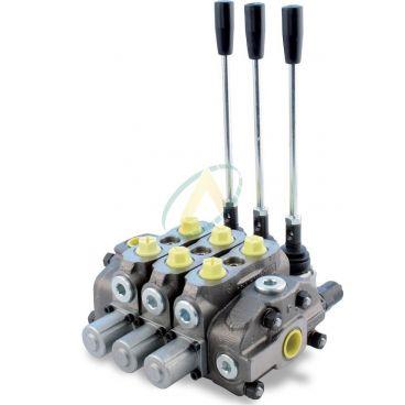 Distributeur 90l/min hydraulique manuelle