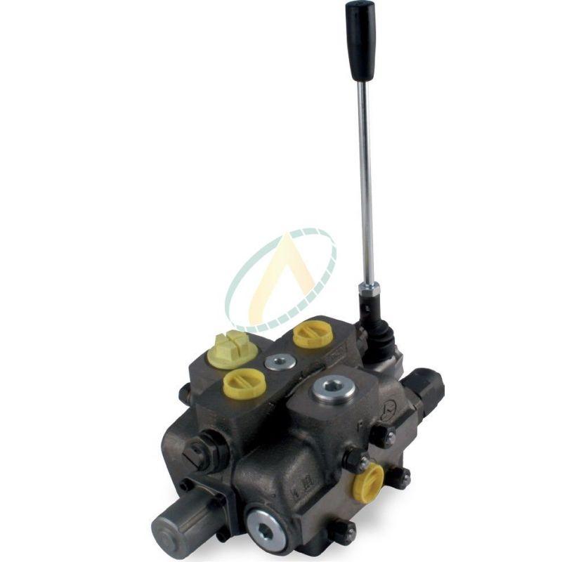 Distributeur 140l/min hydraulique manuelle