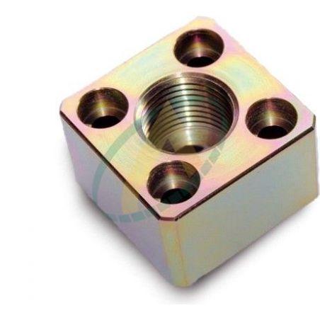 Bride droite carrée entraxe de 30 à 55 mm