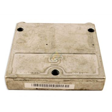 Plaque de fermeture acier pression maxi 350bar avec raccord LX