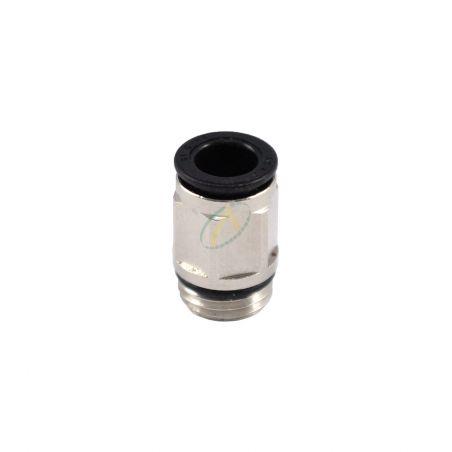 Raccord droit male bsp pour tuyau pneumatique 8mm