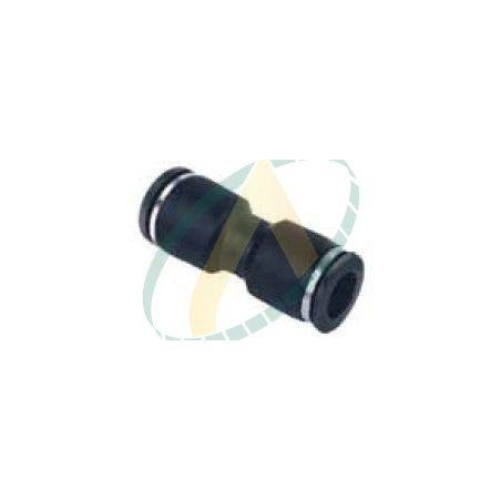 Raccord droit male bsp pour tuyau pneumatique 6mm
