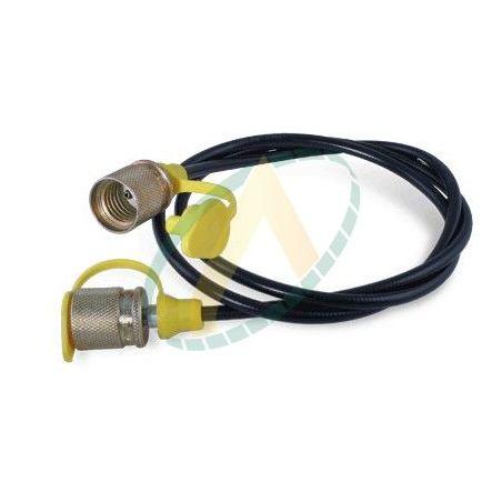 Flexible de liaison entre raccord de mano et prise de pression 16X200