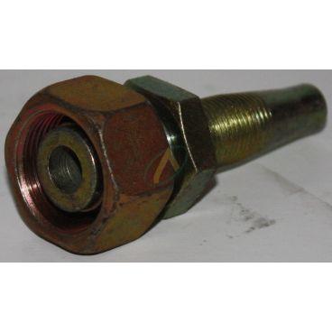 Embout récupérable pour flexible de 13 mm, écrou tournant 18L