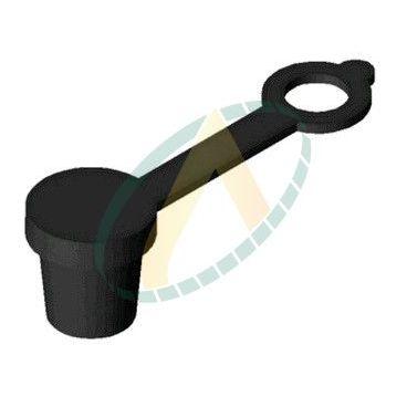 Bouchon plastique pour graisseur de couleur noir