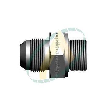 Raccord hydraulique droit mâle 7/8 JIC  / 1/2 BSP