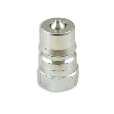 Coupleur hydraulique mâle à clapet ISO-B