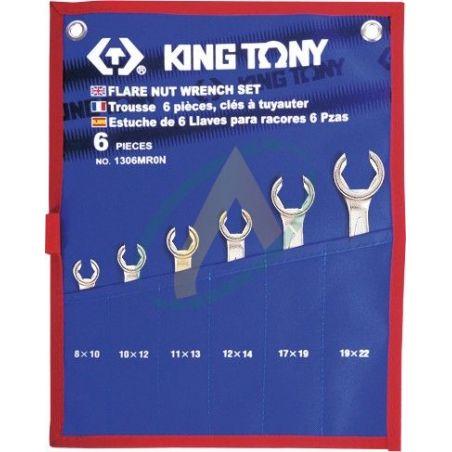 Trousse de clés à tuyauter métriques - 6 pièces