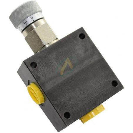 Diviseur de débit hydraulique réglable de 0 à 12 l/min, pression maximale 350 bars