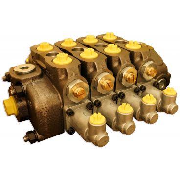 Distributeur 90l/min à commande hydraulique