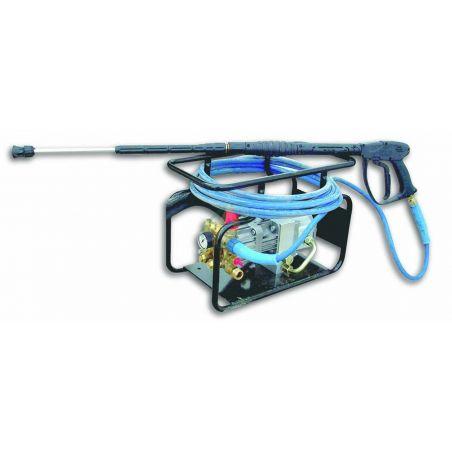 Nettoyeur haute pression à entrainement hydraulique.