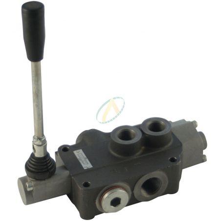 Distributeur hydraulique manuel monobloc 40 l/min 1 fonction