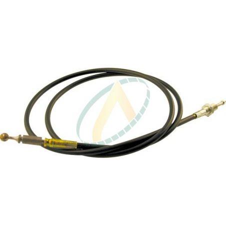 Câble de commande pour chargeur frontal avec rotule mâle