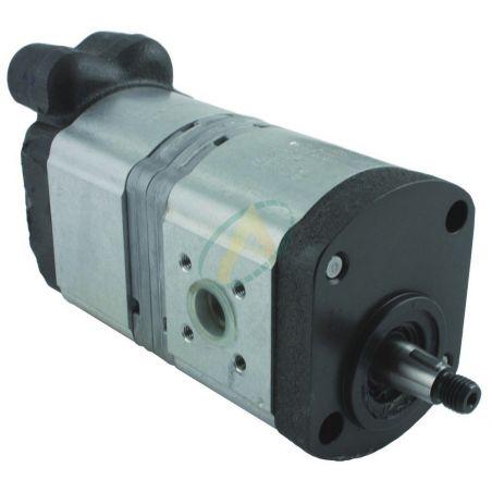 Pompe hydraulique pour tracteur CASE IH 553 - 624 - 734 - 946 - 1045 avec sens O draulic