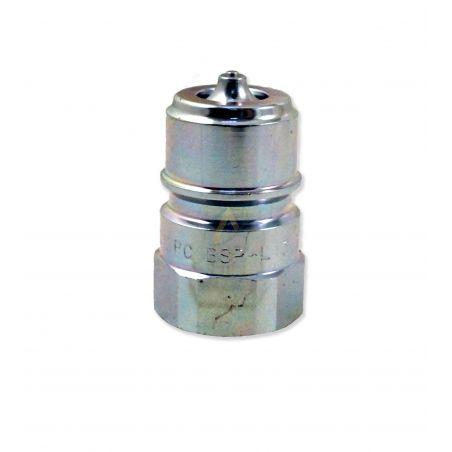 Coupleur hydraulique à clapet ISO-A gamme connectable sous pression