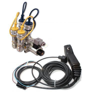 Sélecteur de fonctions empilables avec ou sans kits de commande électriques