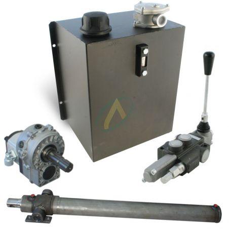 Kit fendeuse de buche hydraulique 13 tonnes avec groupe sans flexible