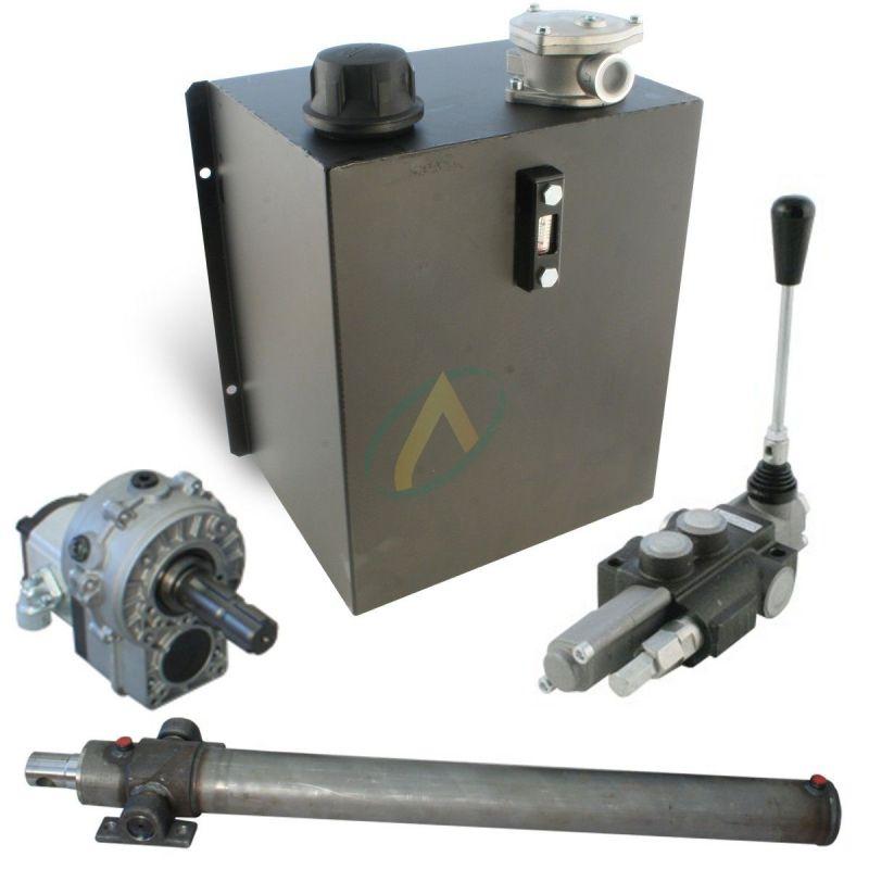 Kit fendeuse de buche hydraulique 16 tonnes avec groupe sans flexible