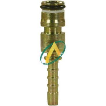 Embout à sertir sur tuyau de 6 mm, Diamètre 13.5 pour agrafe
