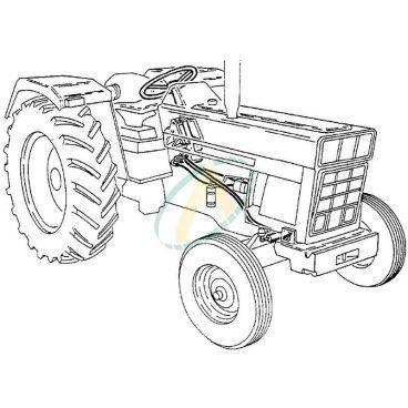 kit remplacement d'orbitrol pour tracteur CASE IH644 645 743