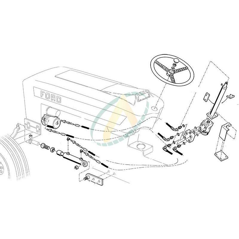 direction hydrostatique pour ford 4000 4600