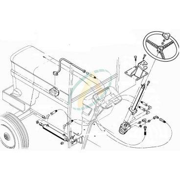 Direction hydrostatique pour FIAT SOMECA 650 750