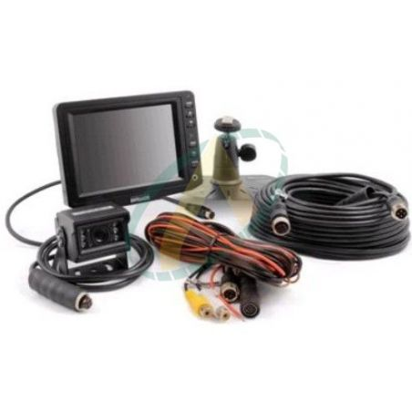 """Kit moniteur 5"""" avec entrée vidéos pour 1 caméra + câble de 20 m"""