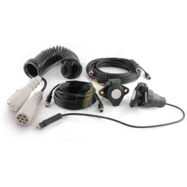 Kit câbles et prises pour caméra sur camion avec remorque