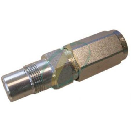 Coupleur mâle multifaster module 3/8 - femelle 1/2 G sous pression