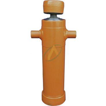 Vérin hydraulique télescopique à rotule 3 éléments tige : 46/61/76