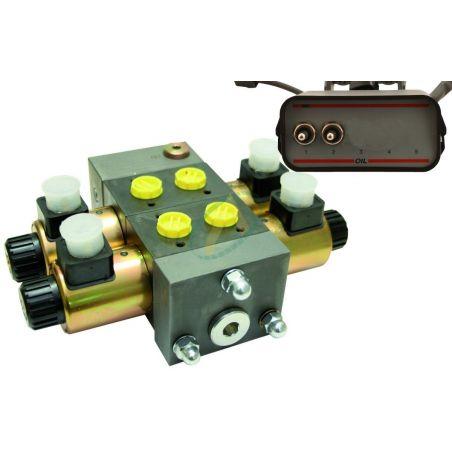 Distributeur compacts 30l/min 210bar avec limiteur de pression