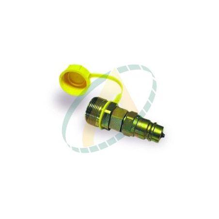 Adaptateur pour coupleurs à clapet et valves à visser
