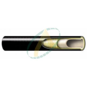 Flexible hydraulique 1 ou 2 tresses R8 diamètre intérieur 6.5 mm (1/4'') - 350 bars