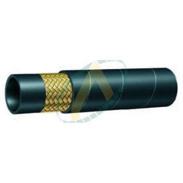 """Flexible hydraulique 1 tresse compact 1SC diamètre intérieur 8 mm (5/16"""") - 215 bar"""