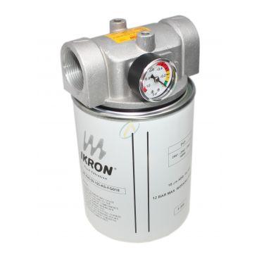 """Filtre aspiration en ligne SPIN ON 25l/min 10 µm 1"""" 1/4 BSP"""