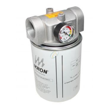 """Filtre aspiration en ligne SPIN ON 50l/min 25 µm 1"""" 1/4 BSP"""