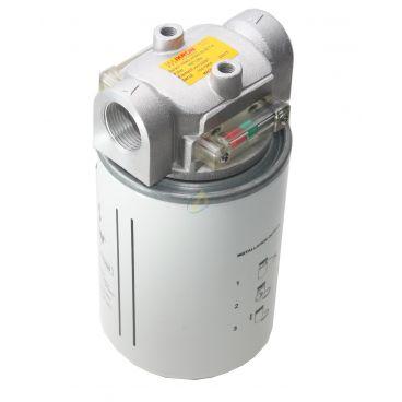 Filtre retour en ligne SPIN ON 45l/min 10 µm 3/4 BSP