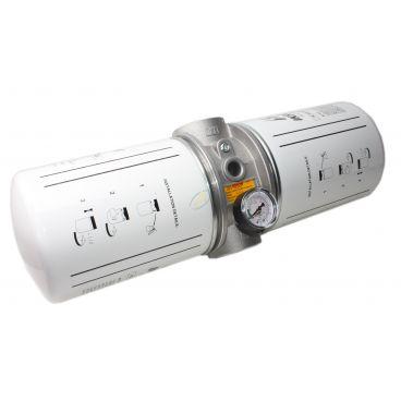 """Filtre retour en ligne SPIN ON 360l/min 25 µm 1"""" 1/2 BSP"""