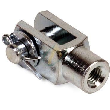 Chape pour mini vérins diamètre de tige 12 mm