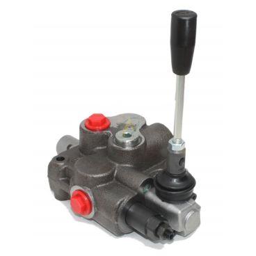 Distributeur monobloc 45l/min centre à suivre uniquement, tiroir simple effet avec crantage levier tiré